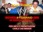 Cena WWE Royal Rumble da Aghito