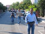 Aldo cammina verso a stasion
