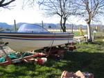 Vista laterale Boat