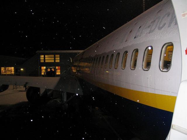 El fianco dell'aereo