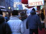 In città ad Amsterdam