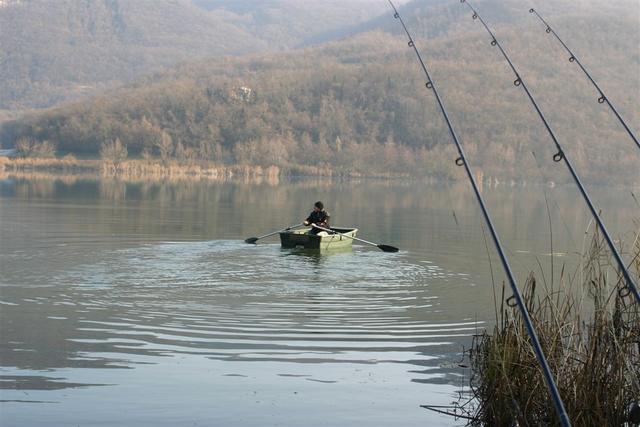 Loren via pal lago..