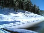 Neve bordo strada