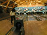 Lancio dea Bene al Bowling del centro Rendola a Gallio