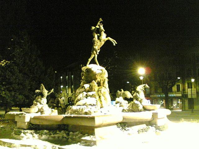 Monumento dea piazza ad Asiago