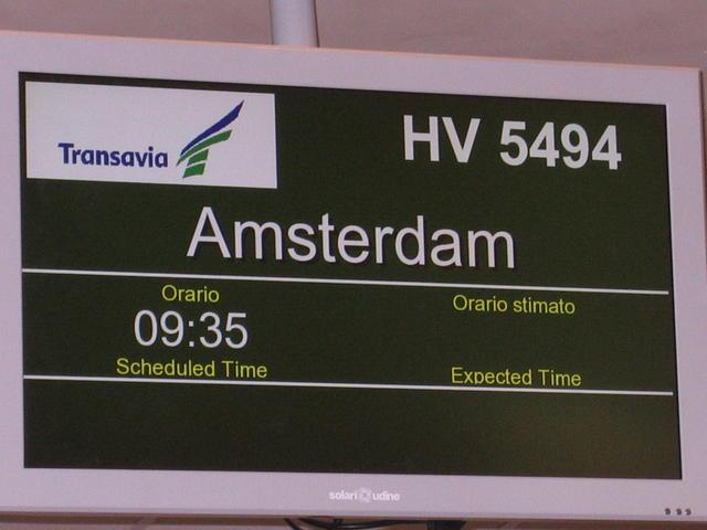 Volo HV5490 Treviso - Amsterdam