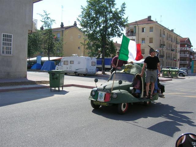 Dopo 6h30 e 450km eccoci a Cuneo!