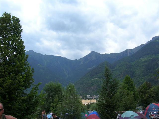 Vista montagne di Sondalo