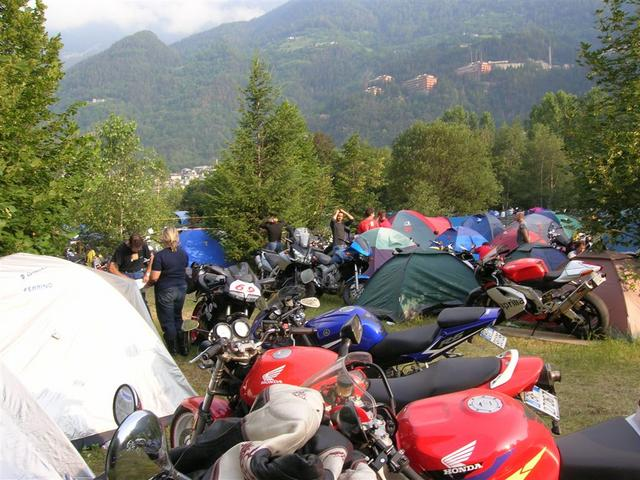 Ultima foto al campeggio