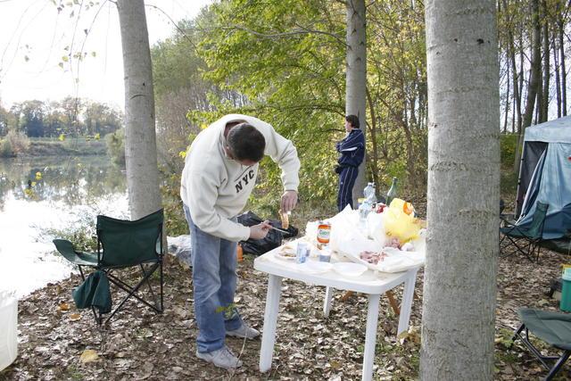 Carlo al grill