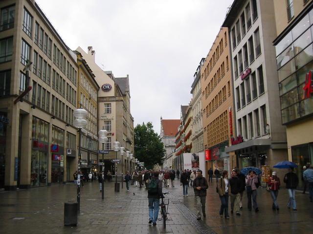 Una via di München