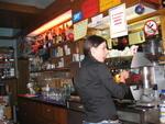Ea barista del bar sport