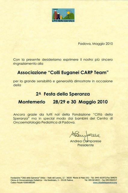 Diploma Ringraziamenti